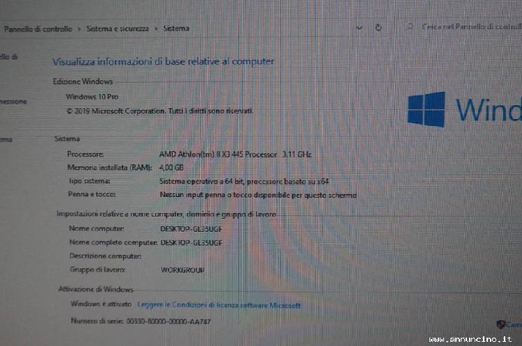 Elettronica, informatica, italia, usato, pc desktop