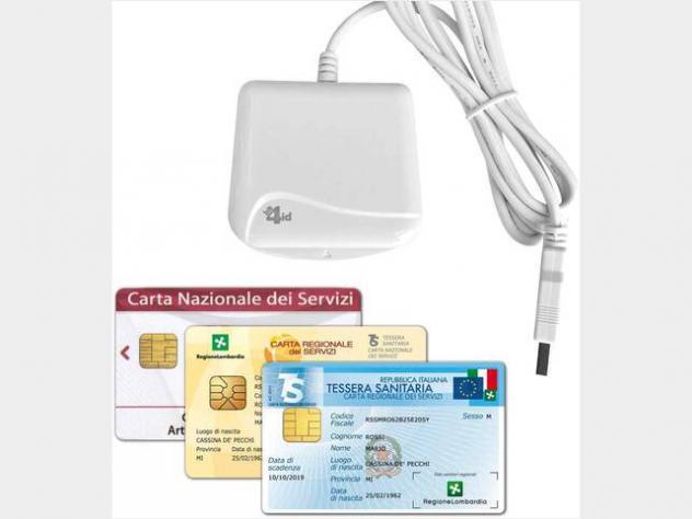 Lettore e scrittore di schede o smart card per crs nuovo