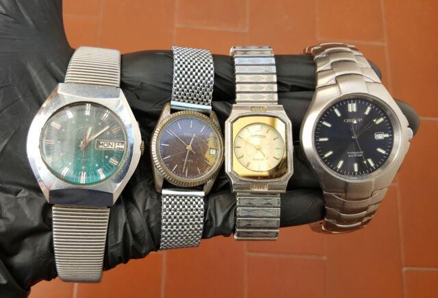N°4 orologi vintage citizen breil slava