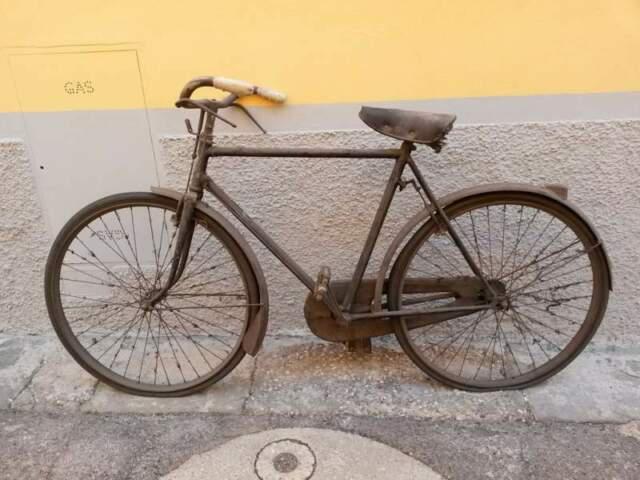 Antica e rara bicicletta da uomo anni 30