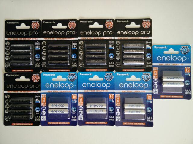 Batterie ricaricabili panasonic eneloop (hr03)