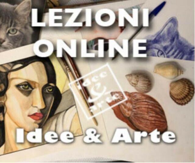 Corsi online di disegno e pittura