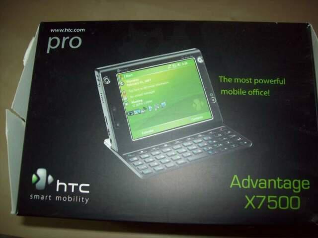 Htc pro advantage x7500