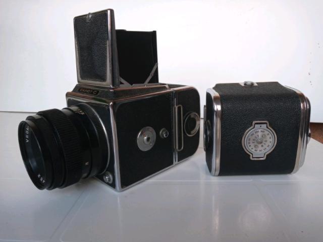 Macchina fotografica salut -c 6x6 kiew 88