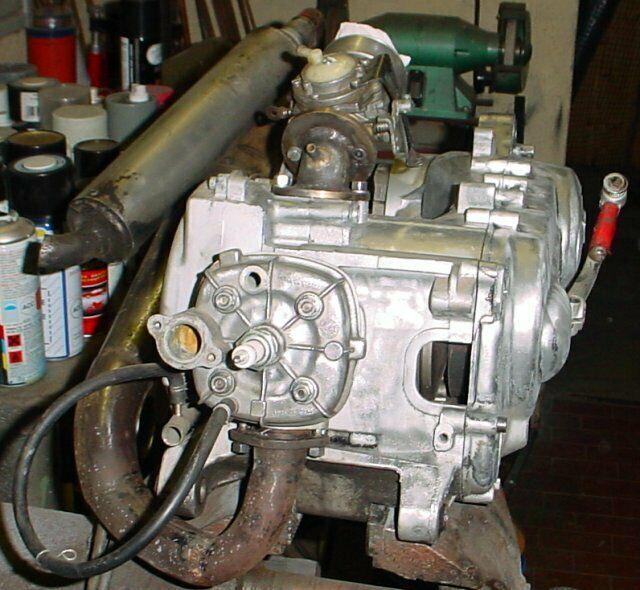 Motore 70cc mhr malossi per piaggio nrg