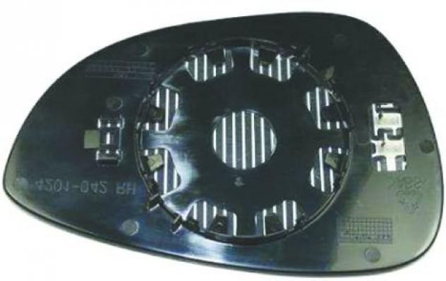 Piastra specchio retrovisore per ford b-max dal 2012 lato