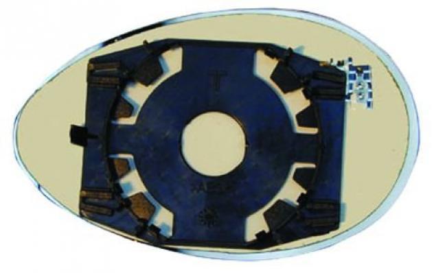 Piastra specchio retrovisore termica per alfa romeo 156 dal