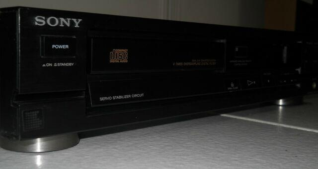 Sony cdp-390 lettore cd player (1989)