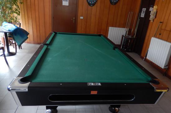 Tavolo da biliardo semiprofessionale per pool dimensioni