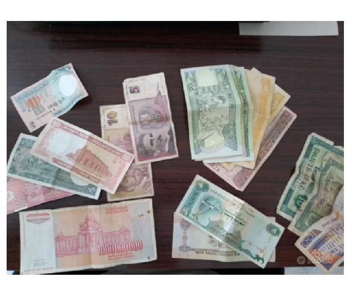 Vendo monete e banconote