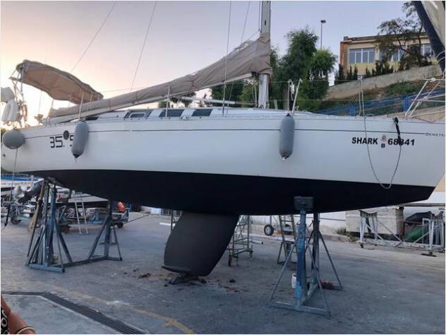 Barca a velabeneteau first 35s5 anno1988 lunghezza mt11