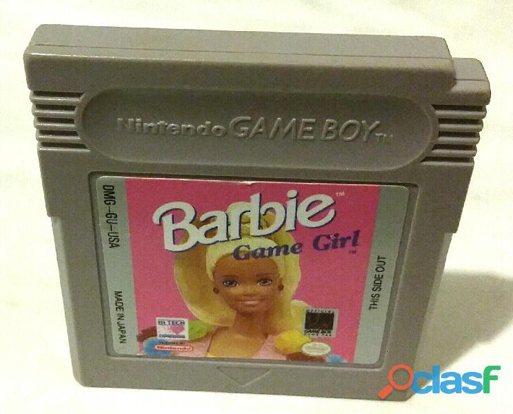 Gioco per nintendo game boy barbie game girl dmg gu usa made in japan