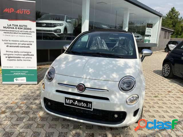 Fiat 500 c elettrica-benzina in vendita a castellanza (varese)
