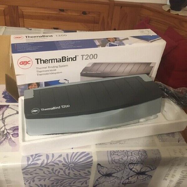 Rilegatrice termica thermabind t200
