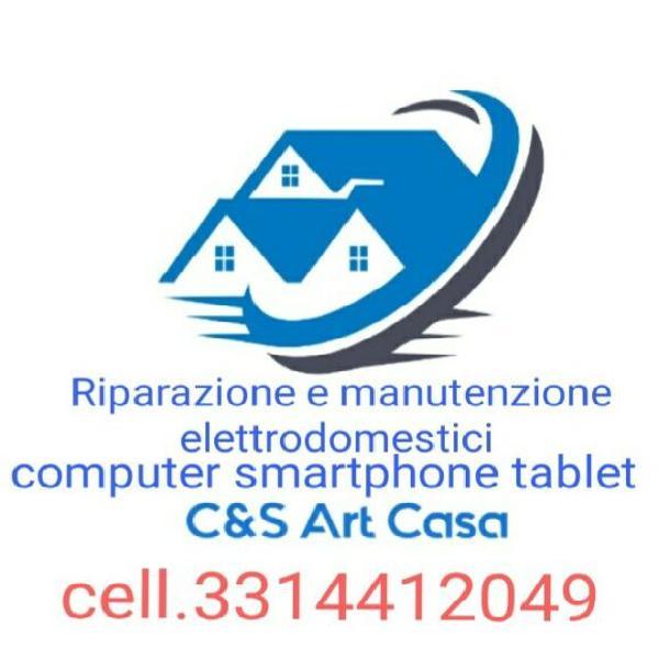 Riparazione elettrodomestici computer smartphone tablet