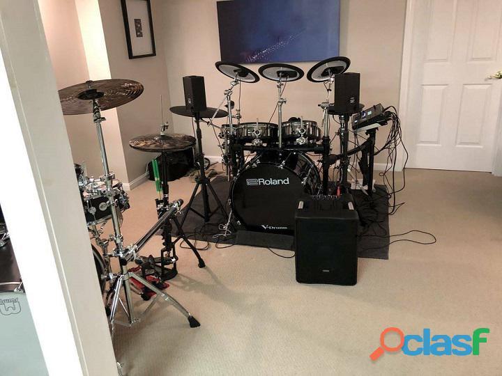 Set di batterie roland 50kv drums tamburo
