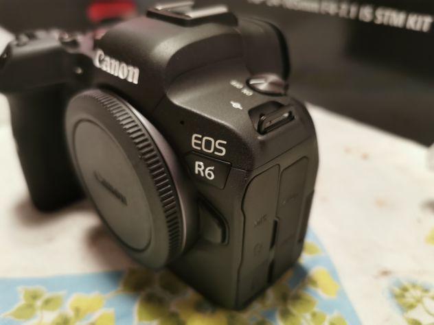 Canon eos r6 + anello adattatore