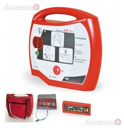 Defibrillatore semiautomatico aed rescue sam