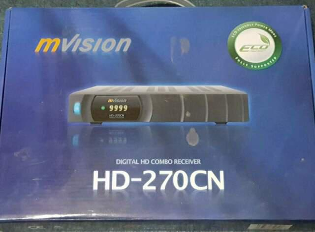 Digital hd combo receiver mvision hd 270-cn