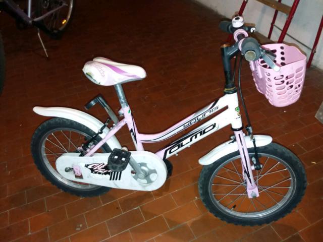 Bicicletta per bambina marca olmo