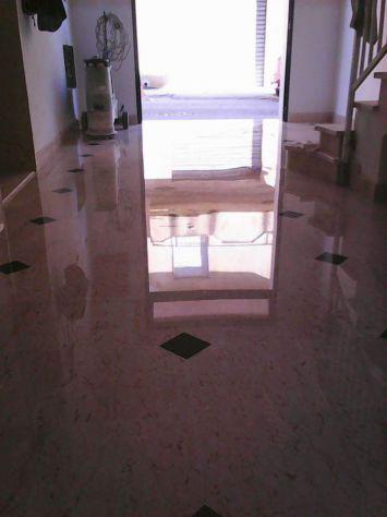 Lucidatura pavimenti in marmo