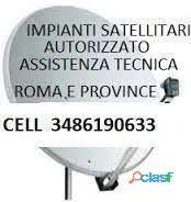 Monteverde, 00152 Roma RM antennista assistenza sky elettricista a domicilio