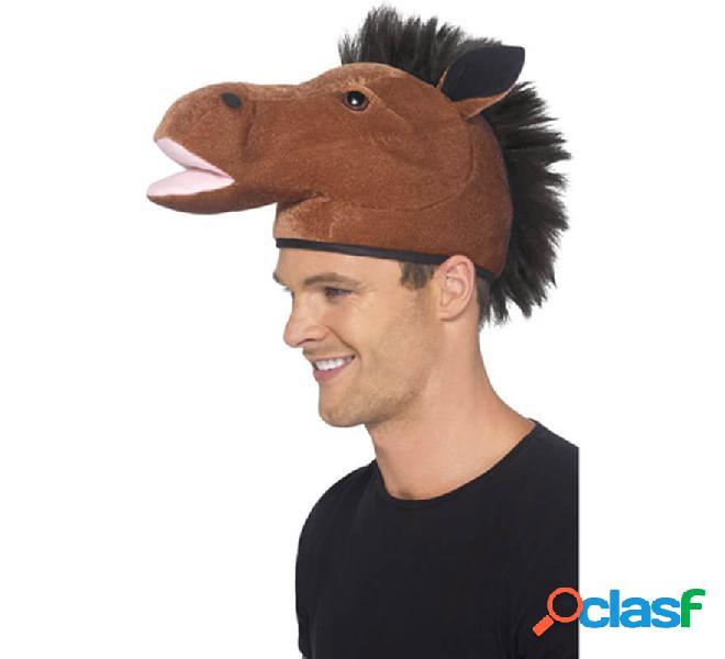 Cappello da cavallo con la criniera