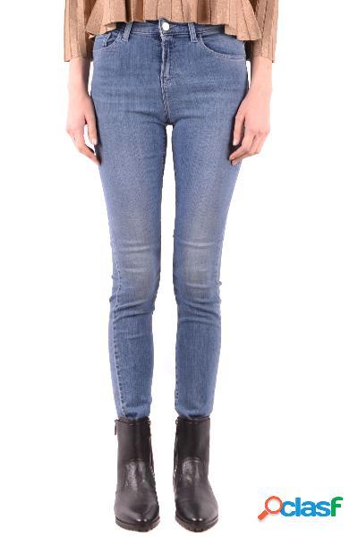 Armani jeans jeans donna mcbi37512 poliestere blu