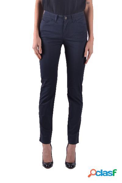 Armani jeans jeans donna mcbi31976 poliestere blu