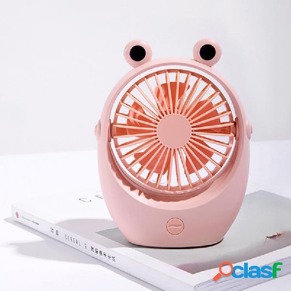 Ventilatore di raffreddamento portatile ricaricabile regolabile da tavolo con ventilatore per circolatore d'aria per dormitorio aula ufficio