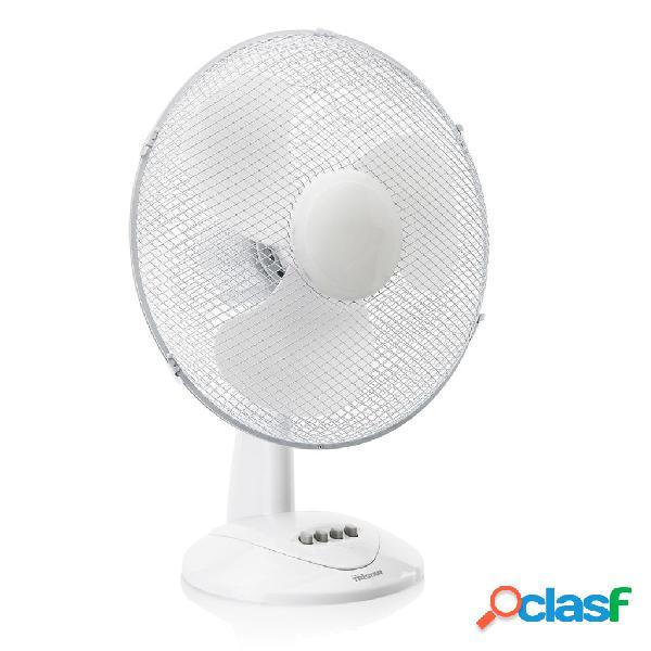 Tristar ventilatore da tavolo ve-5978 50 w 40 cm bianco