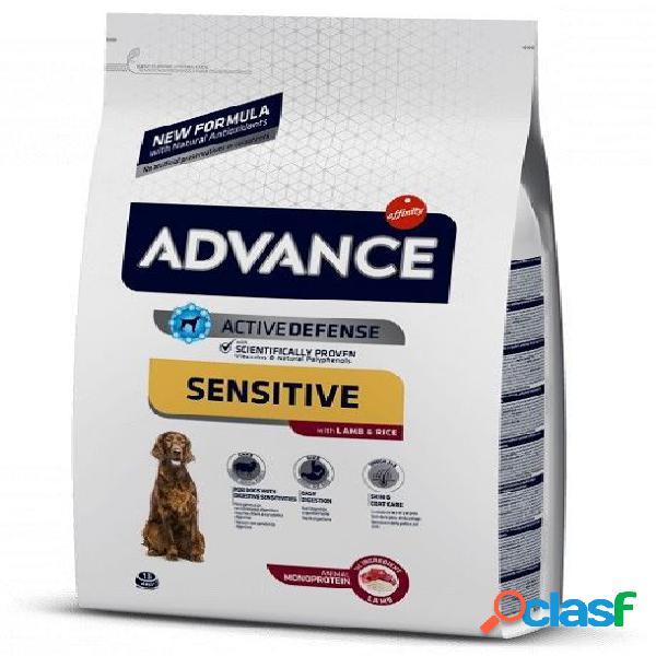 Affinity advance cane sensitive medium maxi agnello riso kg 12