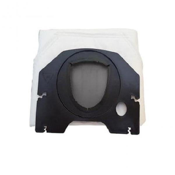 6 sacchetti filtro compatibili con vorwerk folletto vk200 e