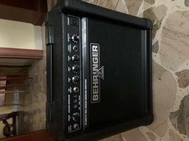 Behringer v tone 108 15 watts.