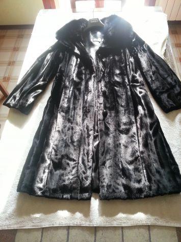 Cappotto nero COMBIPEL tag.46