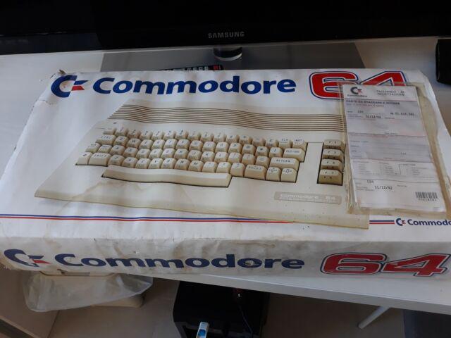 Commodore 64 C Boxato Funzionante