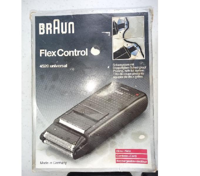 Rasoio elettrico braun flex control