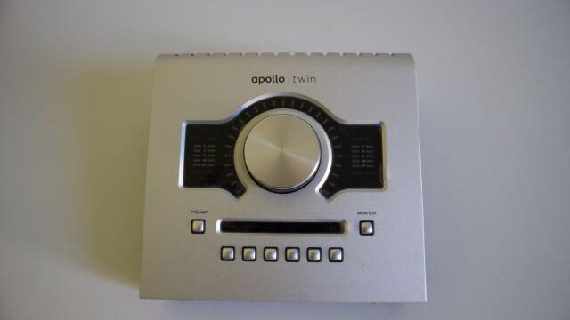 Scheda audio professionale universal audio apollo twin