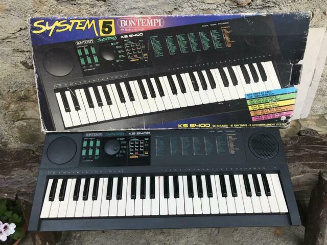Tastiera bontempi ks 5400 system 5