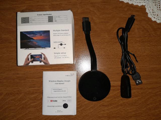 Yehua wireless wifi display dongle hdmi 1080p wifi display