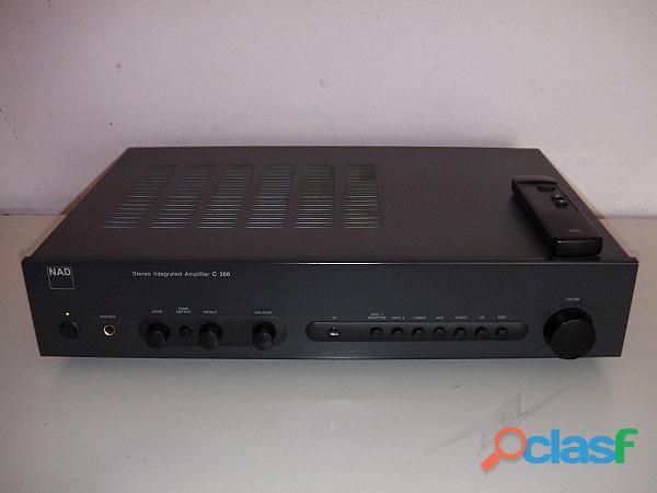 Amplificatore NAD C 300 con telecomando