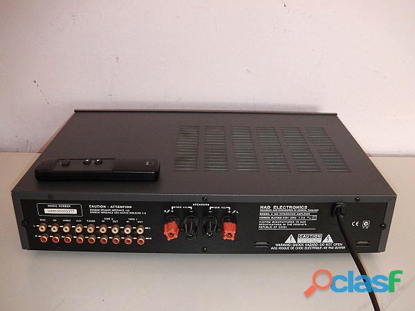 Amplificatore NAD C 300 con telecomando 2