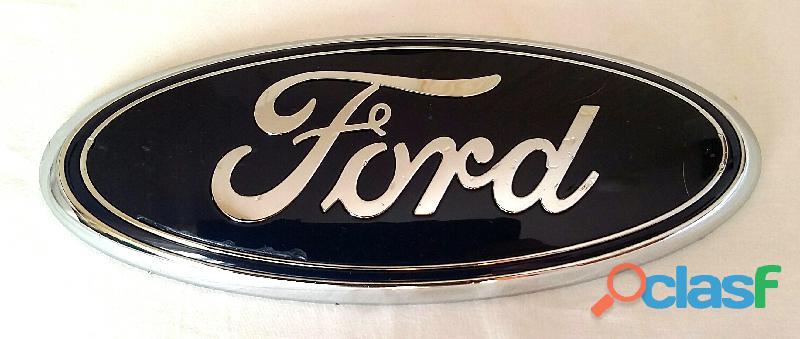 Fregio stemma anteriore logo emblema originale Ford mm 175x70 perfetto