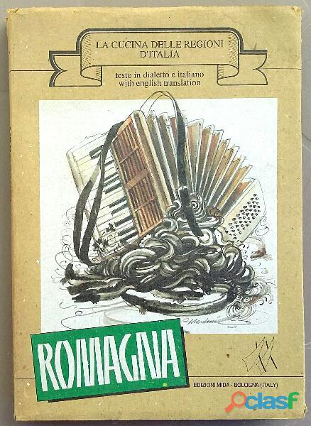 La cucina delle regioni d'Italia: ROMAGNA di Martini Fosca Ed.Mida, Bologna 1989 perfetto