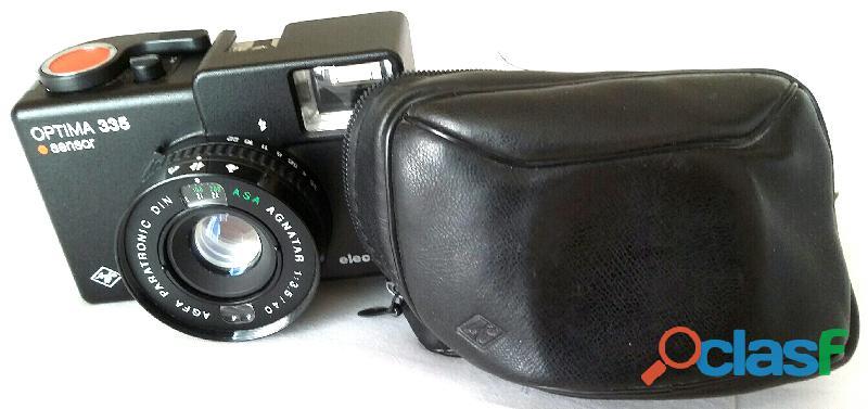 Macchina fotografica Agfa Optima 335 Sensor Electronic con custodia come nuova