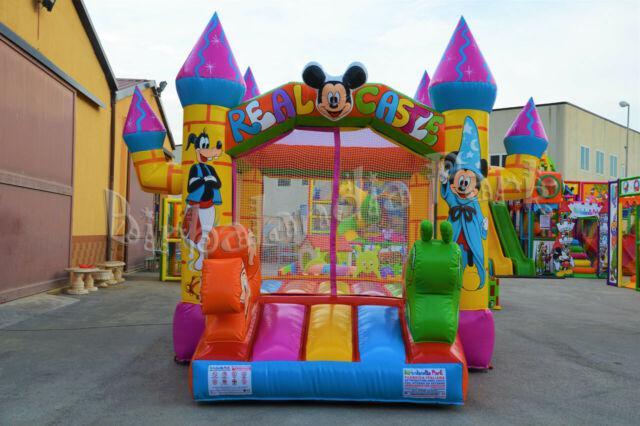 Gonfiabile piscina con palline per bambini uso professionale