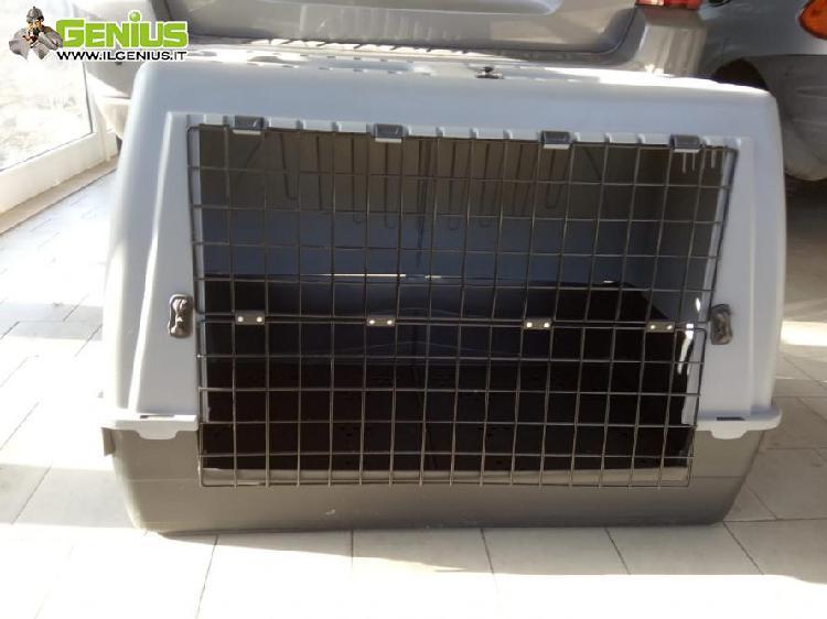 Trasportino auto cani taglia media,grande o due piccoli