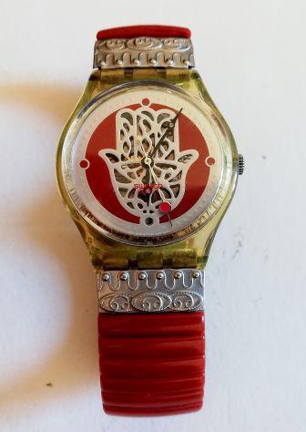 Vendesi orologio swatch raro ''wise hand''