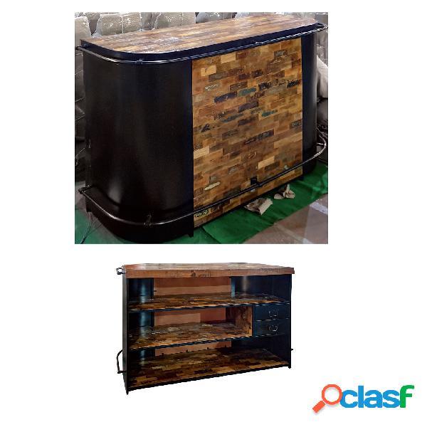 Bancone bar recycle