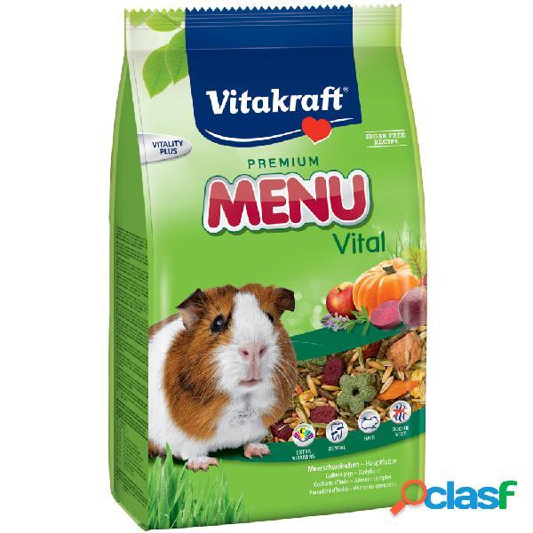 Vitakraft menu' vital porcellini d'india 3 kg